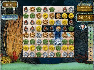 Match-3 Spiel in animierten Themenwelten.