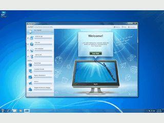 Sicherers Löschen von Dateien, Registry- und Junkfile-Cleaner.