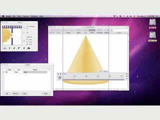 Desktop-Lineal zum messen von Abständen auf dem Bildschirm.