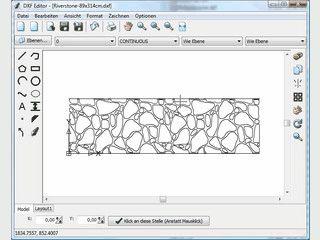 Bearbeiten und Erstellen von Zeichnungen im DXF Format.