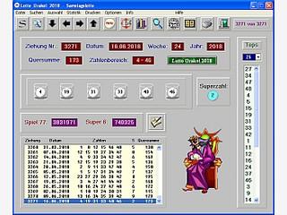 Lotto Programm mit vielen Statistikfunktionen und Tippschein Verwaltung