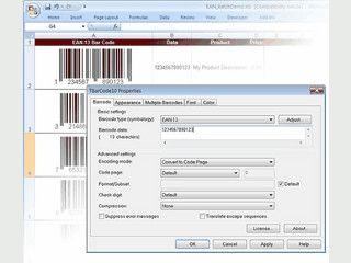 Barcodes aus ActiveX .Net Anwendungen, Visual Basic usw. erstellen.