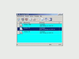Sichert Dateien und spiegelt Verzeichnisse als Backup