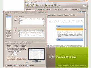 Auf jQuery basierende Akkordians für Webseiten, Drupal, Joomla und Wordpress