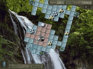 PacMan ähnliches Spiel.