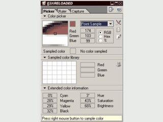 Kleine Toolsammlung mit ColorPicker, Lineal und ScreenCapture.