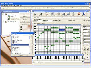 Professionelles Erstellen und Bearbeiten von Midi-Dateien.
