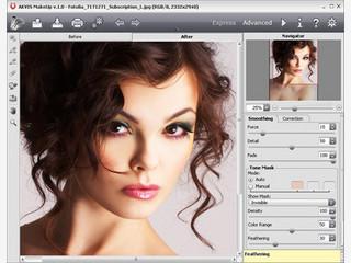 Porträt-Fotos verbessern und ihnen einen professionellen Look verpassen.
