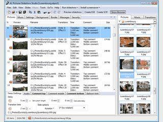 Erzeugt Slideshows und Bildschirmschoner als EXE oder SCR Datei