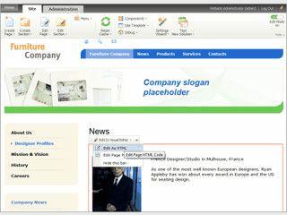 Werkzeug zum Erstellen von CMS-basierten Websites, E-Shops usw.