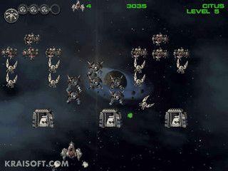 Space Invaders Clone mit zahlreichen Gegnern.