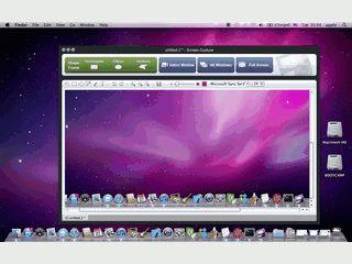 Screencapture-Lösung für Fenster, Bereiche und Masken auf dem Desktop.