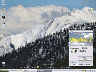Desktopkalender und Bildschirmschoner mit weiteren nützlichen Funktionen.