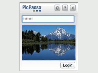 PicPasso erinnert Sie mit Bilderfolgen an Ihre Passwörter.