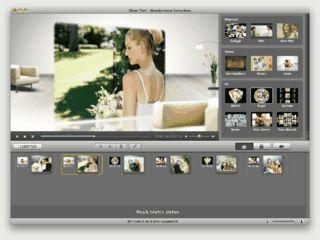 Software zur Erstellung von Diashows und Videos am Mac.