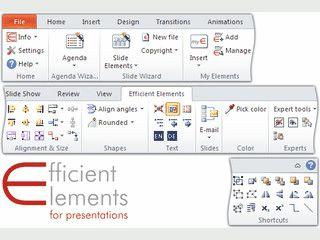 Add-In für PowerPoint zur Beschleunigung wiederkehrender Prozesse.