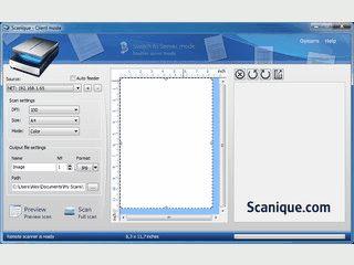 Die Software ermöglicht es Ihnen, einen Scanner über das Netzwerk zu nutzen.