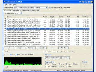 Tool zur Audiokonvertierung mit Unterstützung für viele verschiedene Formate.