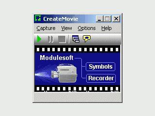 Zeichnet alle Bildschirmaktivitäten auf und speichert diese als AVI Film.