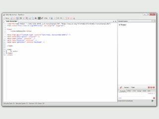 Multifunktionaler Texteditor für Entwickler.