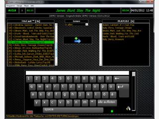 MP3 Player der wie eine Jukebox aufgebaut ist und mit der Maus gesteuert wird.