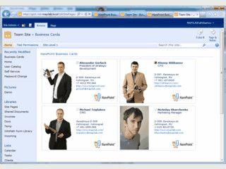 Automatische Veröffentlichung von Benutzerkonten eines SharePoint-Dienstes.