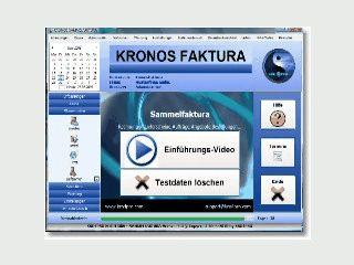 Faktura-Software für diverse Branchen mit Barkasse.