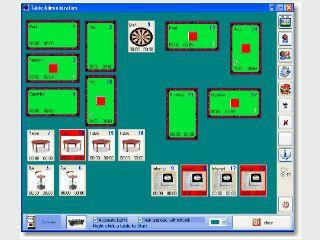 Software zur Verwaltung eines Billiard-Salons oder -Clubs.