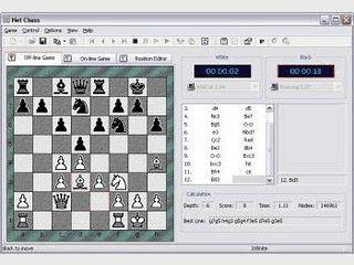 Schach gegen den Computer oder über das Internet,