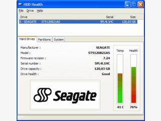 Zeigt Ihnen den S.M.A.R.T. Status Ihrer Festplatten und SSDs