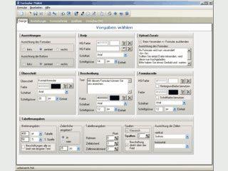 Umfangreiche Software zum Erstellen von Kontakt-Formularen für Ihre Webseite.