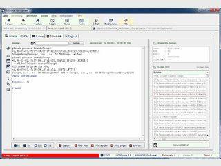 Komplexe Terminalsoftware für serielle Schnittstellen