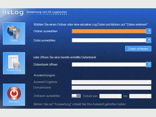 Auswertung für LOG-Dateien von Micrsosoft Internet Informations Service