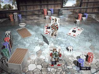 Anspruchsvolle Black Jack-Variante mit Einzelspiel, Multiplayer und Tutorial