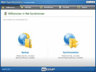 Synchronisieren und Sichern von Webservern per FTP-Verbindung.