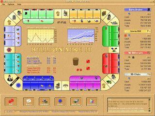 Billionaire II ist ein Brettspiel rund um die Wirtschaft.