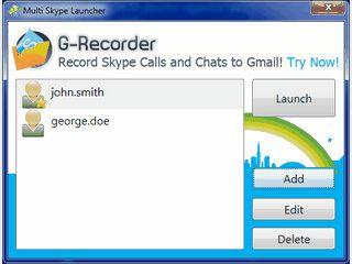 Führen Sie mehrere Skype-Konten auf einem Computer mit dem Gratis-Tool
