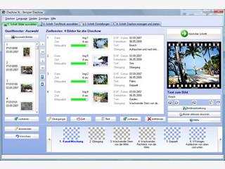Diashows und Fotoalben für PC, CD-ROM, DVD erstellen.