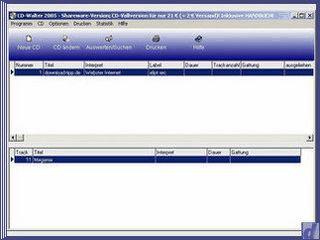 CD-Verwaltung und Katalogisierung