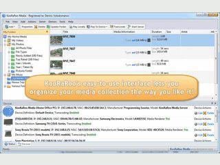 DLNA SAerver und Medien-Organizer inklusive Transcoding der Medien.
