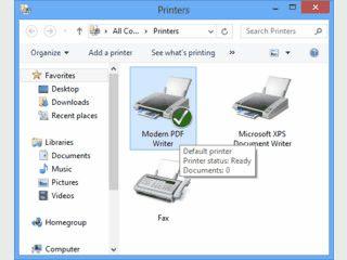 PDF-Dateien aus jeder Windows Anwendung erstellen.