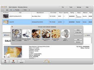 Datenbank-Software zur Verwaltung beliebiger Sammlungen,