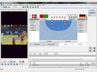 Spielzugerfassung von Handballspielen zur anschließenden Analyse