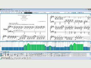 Software um am Computer zu komponieren und Notenblätter zu erstellen.