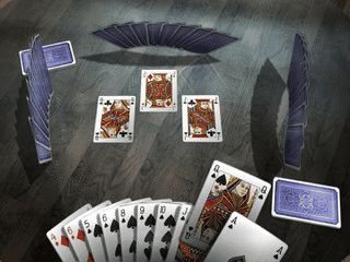 Kartenspiel-Klassiker Hearts in 3D mit Einzelspiel, Multiplayer und Tutorial