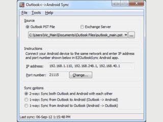 Synchronisierung von Kontaktdaten zwischen Android und MS Outlook