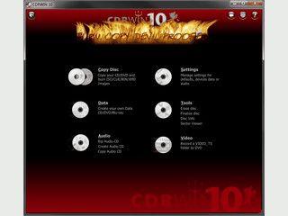CDRWIN 10, kopiert & brennt wie der Teufel! Jetzt noch schneller und einfacher!
