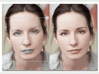 Portrait-Fotos auf einfache Art und Weise zu verbessern.