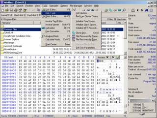 Hex-Editor für Dateien, Datenträger und RAM mit einer Fülle von Funktionen