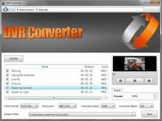 Video Konverter für die gebräuchlichsten Formate.